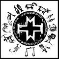 Western Primitive Zodiac #2 Royalty Free Stock Photo