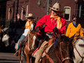 Western Stock Show Parade Royalty Free Stock Images