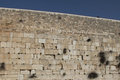 Western wall Royalty Free Stock Image