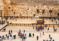 The Western Wall, Jerusalem Stock Images
