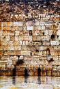 The western wall in jerusalem israel december with praying pilgrims on december it s located old city of at Stock Images