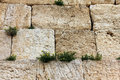 Western wall masonry units of herod the great time jerusalem israel Stock Photos
