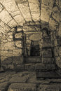 Western Wall tunnel secret passage Royalty Free Stock Photo