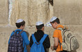 Western wall (Wailing Wall) Jerusalem Royalty Free Stock Photography