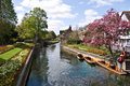 The westgate gardens in canterbury kent uk april beautiful next to river stour historic city of has just Stock Images
