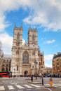 Westminster abbey church in london april collegiate of st peter at on april uk it is one of the most Royalty Free Stock Image