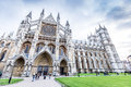 Westminster abbey the collegiate church of st peter at westminster in london uk Stock Photos