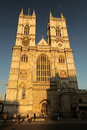 Westminster abbey famous cathedral in london england Stock Photo