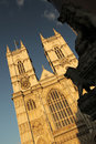 Westminster abbey famous cathedral in london england Royalty Free Stock Photography