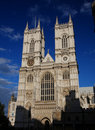 Westminster Abbey in London Lizenzfreie Stockbilder