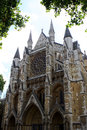 Westminster abbey london church in the city of england Royalty Free Stock Photos
