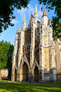 Westminster abbey north entrance of in london Royalty Free Stock Photography