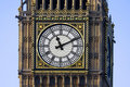 Westminster clock face Stock Photo