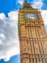 Westminster Palace as seen fron street level, London Royalty Free Stock Photo