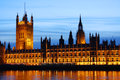 Westminster Palace in London Stock Image
