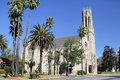 Westminster Presbyterian Chruch in Pasadena Royalty Free Stock Photos