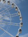 Weston Super Mare - Tourist Wheel Royalty Free Stock Photo