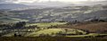 Westwards looking west towards the valley Royalty Free Stock Images