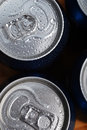 Wet aluminium can Stock Image