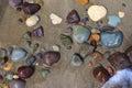 Wet Beach Stones Royalty Free Stock Photo