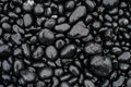 Wet Black Stones Royalty Free Stock Photo