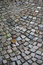 Wet Cobblestones Stock Image