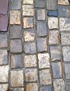 Wet cobblestones view of many photo of textures are ready for backgrounds Stock Images
