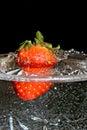 Wet dessert. Royalty Free Stock Photo