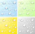 Wet surfaces. Royalty Free Stock Photo
