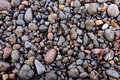 Wet volcanic pebbles Royalty Free Stock Photo