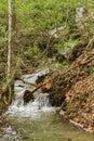 Waterfall in Goshen Pass