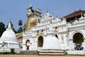 Wewurukannala vihara temple and buddha in sri lanka Royalty Free Stock Photo