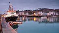 Weymouth hafen in dorset Stockfoto