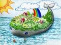 Veľryba ostrov