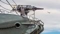 Whaling ship harpoon Royalty Free Stock Photo
