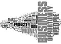 What Is A Business Opportunity Word Cloud