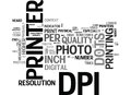 What Is Dpi Dots Per Inch Word Cloud Royalty Free Stock Photo