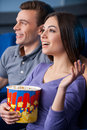 What an exciting movie! Royalty Free Stock Photo