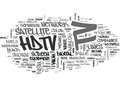 What Is Hdtv Word Cloud
