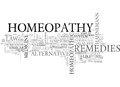 What Is Homeopathy Word Cloud