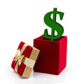 What to spend for a present Stock Photography