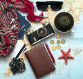 What to take for a trip Royalty Free Stock Photo