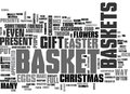 What Would You Put In Your Gift Basket Word Cloud