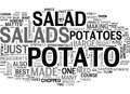 What You Need To Know About Potato Salads Word Cloud