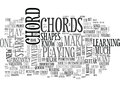 What You Should Know About Beginner Guitar Chords Word Cloud