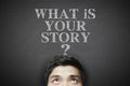 What is your story Royalty Free Stock Photo