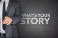 Whats your story on blackboard