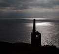 Wheal Prosper at Rinsey Head in Cornwall Royalty Free Stock Images