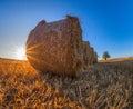 Wheat Bale III Royalty Free Stock Photo