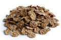 Wheat bran breakfast cereal. Royalty Free Stock Photo
